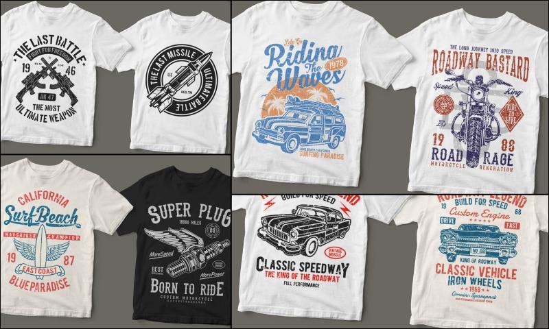 T-Shirtlerde Kendi Tasarımınızı Yapın