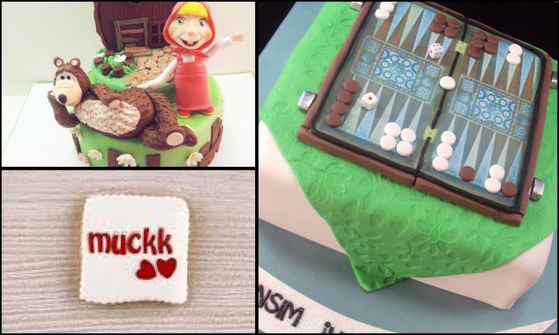 Çocuklar İçin Doğum Günü Pasta Tasarımları