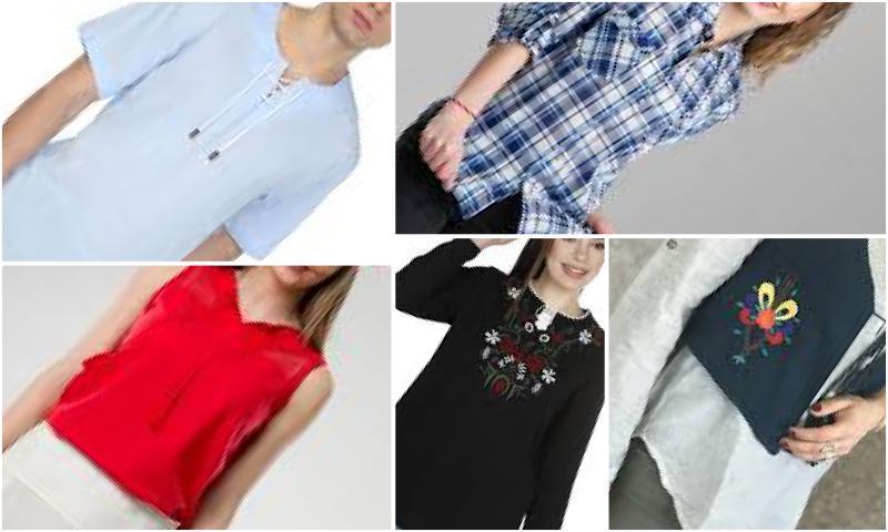 Fantezi Tunik ve Bluz Modelleri