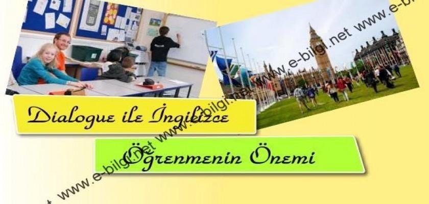 Dialogue ile İngilizce Öğrenmenin Önemi