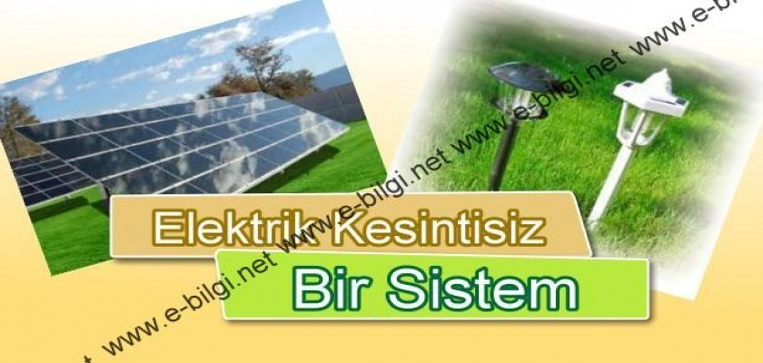 Güneş Enerjisinden Faydalanabileceğiniz Ürün Grupları Bu Adreste