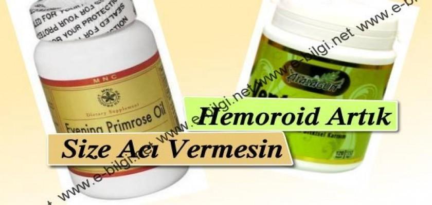 Hemoroid Artık Size Acı Vermesin