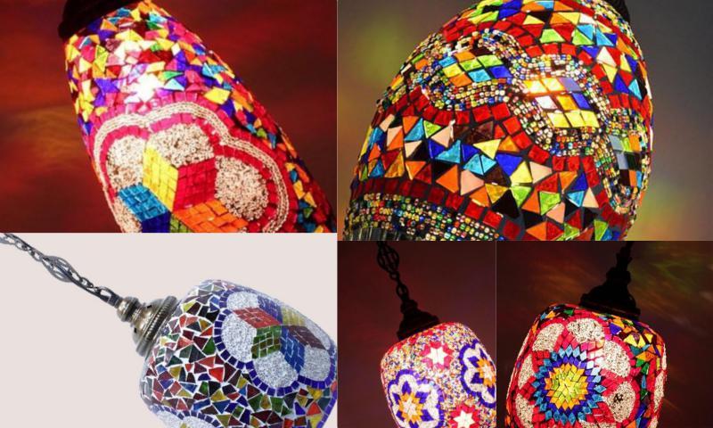 Türk Mozaik Zemin Lambaları