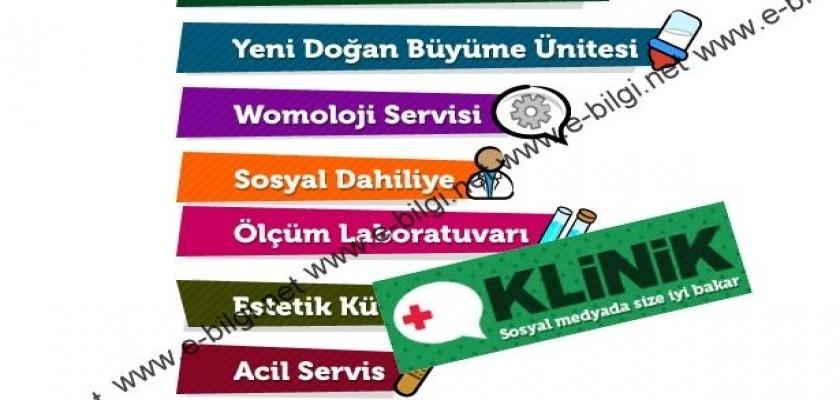 www.klinik.com.tr Web Sitesi Örnek Gösterilebilecek Bir Kadroya Sahiptir