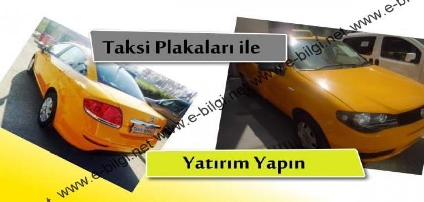 Taksi Plakalarıyla Yatırım Yapın