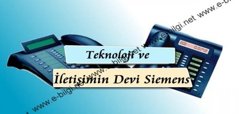 Teknoloji ve İletişimin Devi Siemens