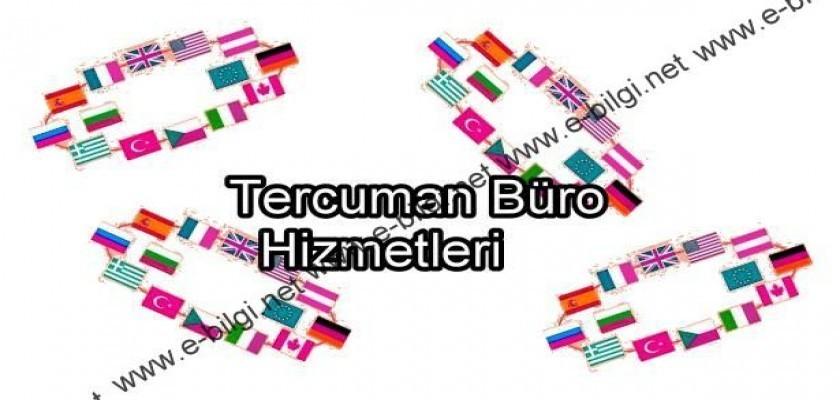 Tercüman Büro Hizmetleri