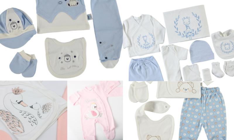Bebekler İçin Organik Yenidoğan Setleri