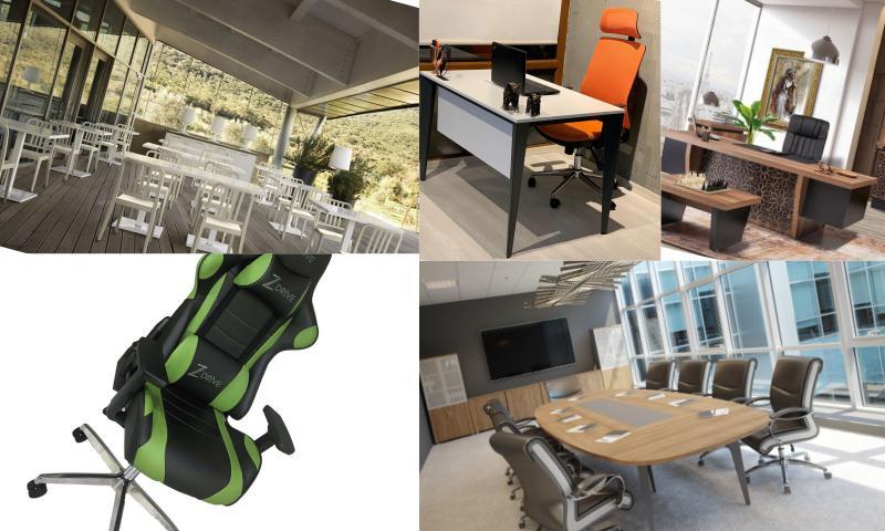 Ofis Mobilyaları Modelleri Ve Renkleri
