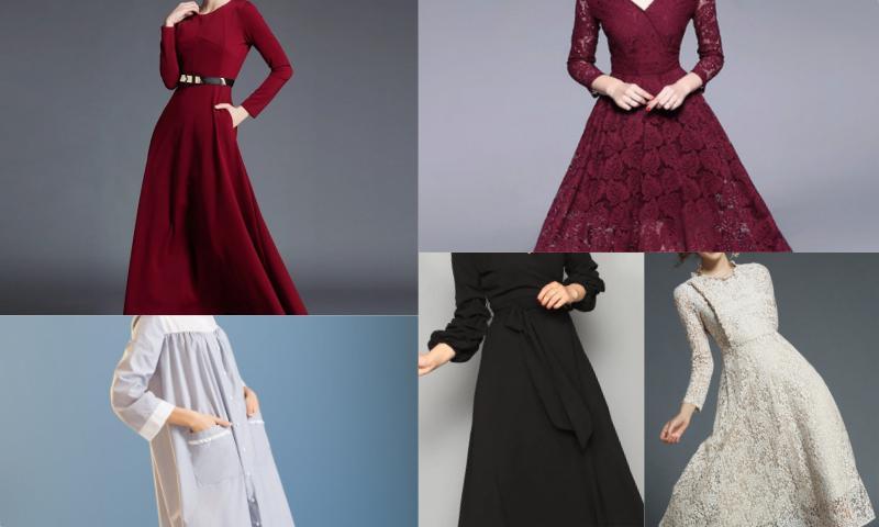 Uzun Elbisenin İhtişamı