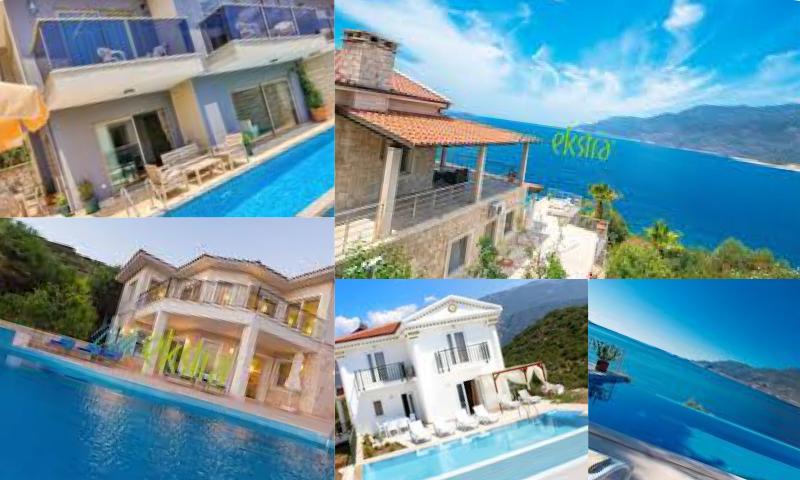 Antalya Kalkan'da Kiralık Tatil Villaları